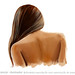 Digital Painting - Nude Back of Woman
