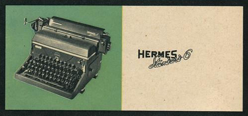 DU 1948-08 Hermes Reklame detail 4