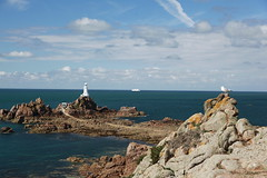 Cruise Ship at Corbiere