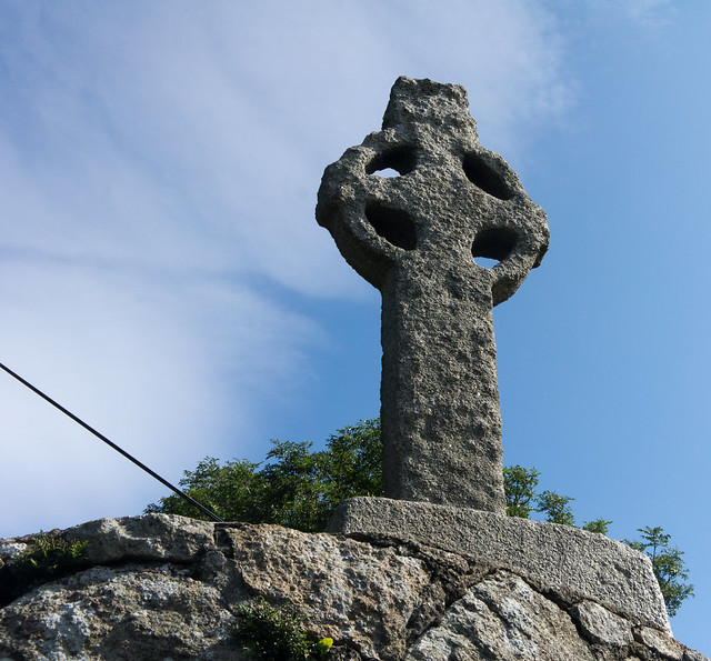 Old Celtic Cross On Lehaunstown Road