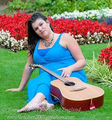 'Julia McInally' Photo Shoot - Sheffield Botanical GradensSept 2011