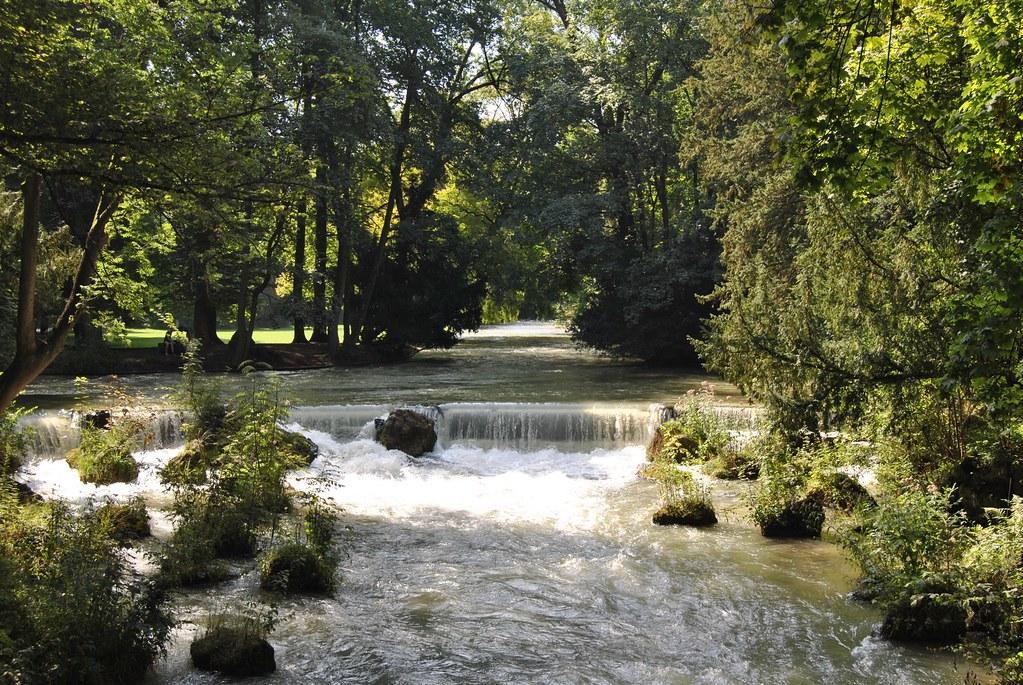 Englischer Garten: cascata