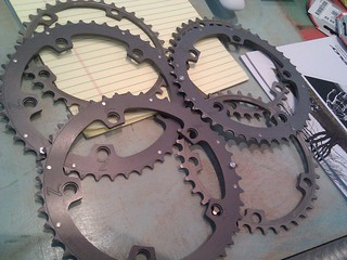 Zanconato custom chainrings