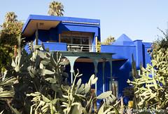 Jardin Majorelle's House Marrakesh