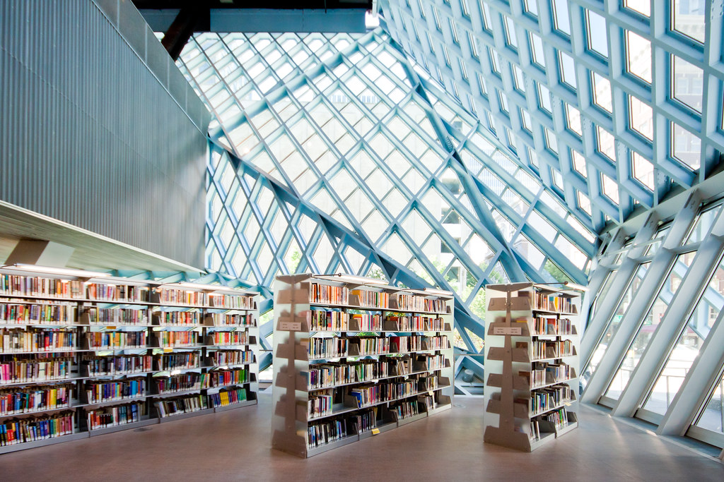 Seattle Public Library Oma Rem Koolhaas At A Moment