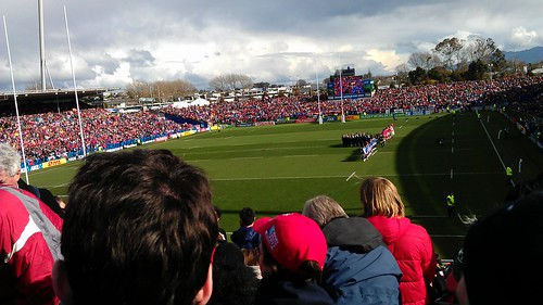 Best rugby ground inNZ #rwc2011