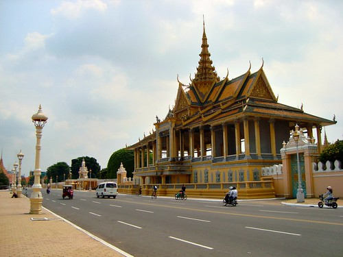 Moonlight Pavilion at Royal Palace, Phnom Penh, Cambodia
