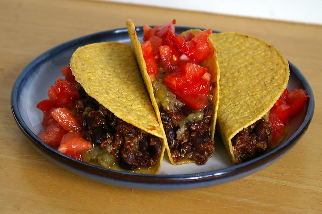 quinoa and black beans vegan tacos | Explore miriamwilcox's ...