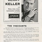 10 - Advert - Jerry Keller 45 and The Viscounts (text)