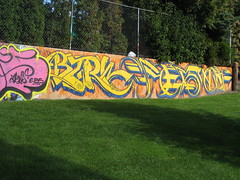 Graffiti Wall I