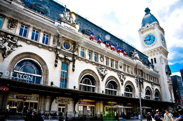 stations train paris gare de lyon
