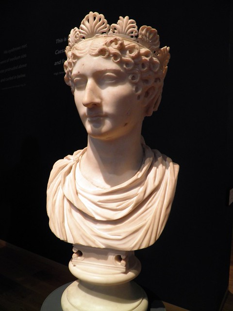 Marble Bust of a Roman Empress, probably Agrippina the Younger, Ashmolean Museum