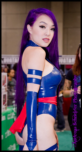 Officially the hottest Psylocke if not greatest cosplayer at Comic-Con 2011