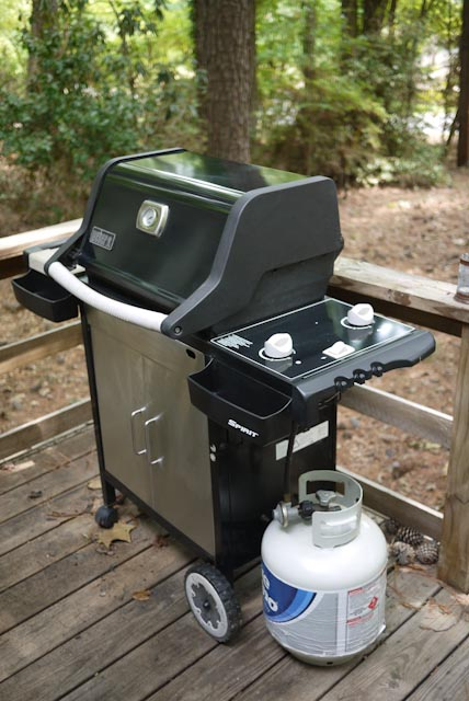hook up propane tank weber grill A home's propane tank is similar to that of a grill's  how to hook up a propane tank to a house  by creating an account you agree to the hunker.