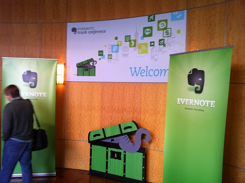 Evernote Trunk Conference Entrance