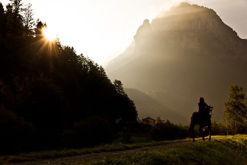 sunset horse sun sunrise schweiz switzerland swiss innertkirchen 1585 oberhasli haslital canoneos60d