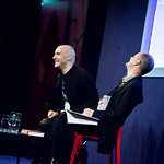 Grant Morrison talking to Alan Morrison |