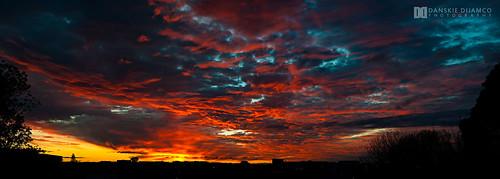 sunset newzealand landscapes photographer auckland redsky sunsetshot newzealandlandscapes aucklandphotographer danskiedijamco afterofficephotograph