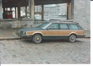 1985 Pontiac 6000 LE Wagon