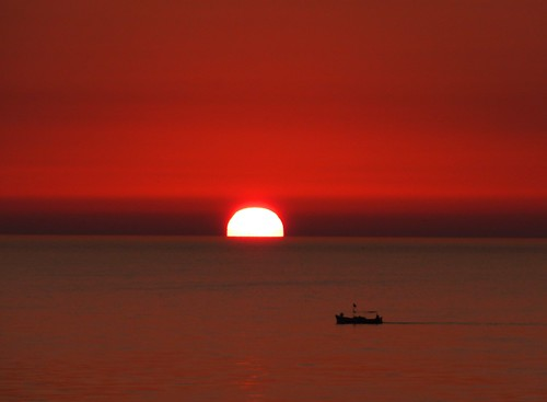 africa morning red sea sun hot beautiful silhouette sunrise boat early skies glow tunisia gorgeous horizon calm burn heat waters sousse daybreak 2011 nuframe