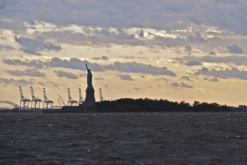 Statue of Liberty post Irene