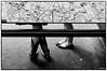 Quotidien - Friends legs by ESchon