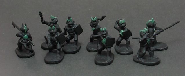 Minifigs kobolds (showing conversions)