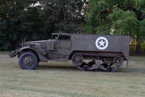wisconsin army military vehicle wi oshkosh halftrack hmv militaryvehicle m3a1
