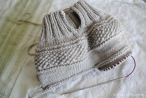 Handknit Drawstring Baby Pants