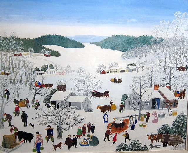 Grandma Moses Facts, information, pictures | Encyclopedia.com