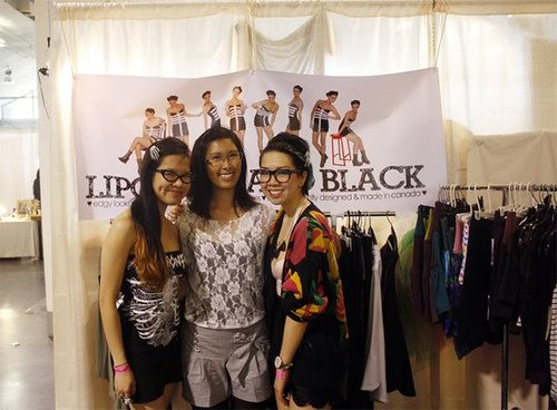 Lipgloss & Black @ the clothing show