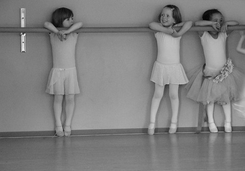 Waiting Ballerinas