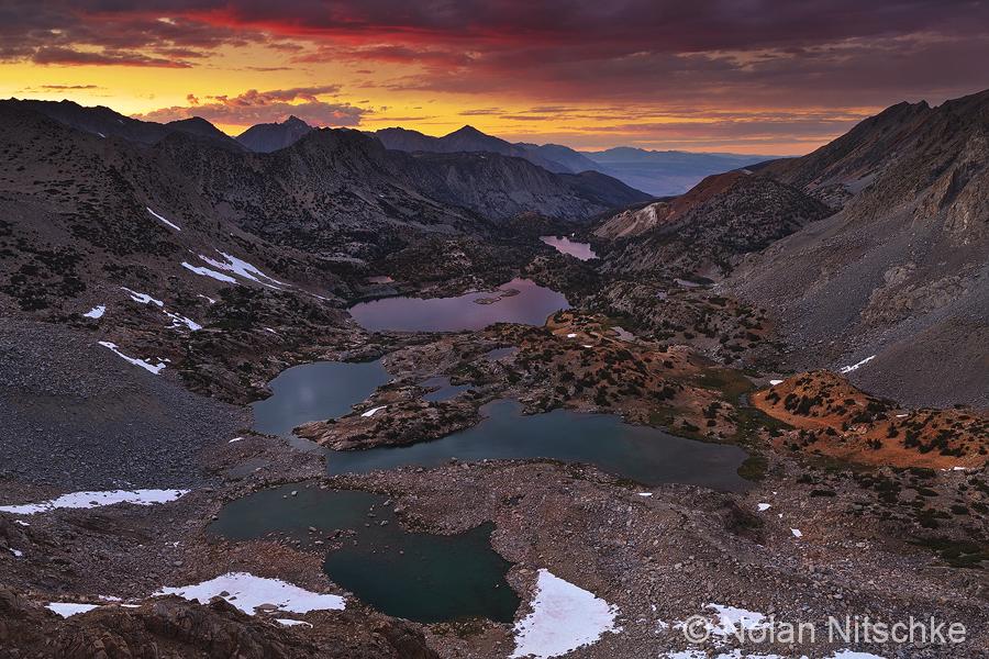 Bishop Pass Sunset