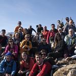 Grupo en el Pico Magarrón