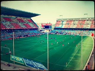 El estado Vicente Calderón donde se jugará el partido