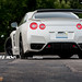 Balloon White R35 Nissan GTR on ADV05 Deep Concave Wheels