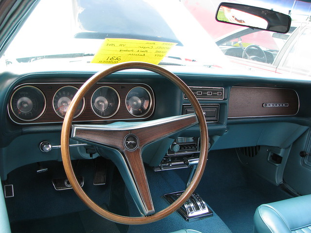 1969 Mercury Cougar Interior Flickr Photo Sharing