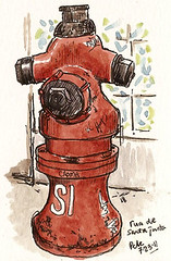 hydrant rua santa justa