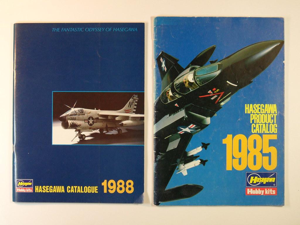 Old Hasegawa  Catalogues