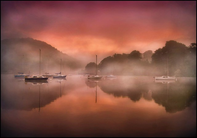 Ullswater at dawn