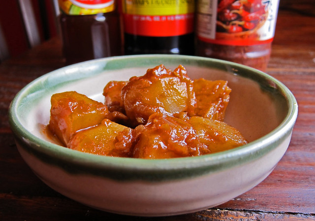 Gamja Jorim - Korean Spicy Soy Sauce Potatoes | Flickr - Photo Sharing ...