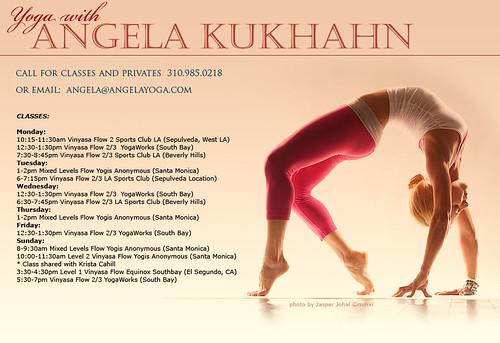 Angela Kukhahn in Wheel Pose (Urdhva Dhanurasana) Photo by Jasper Johal