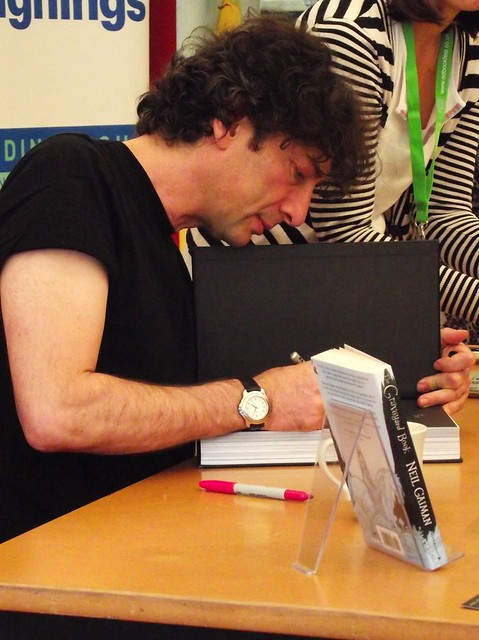 Edinburgh International Book Festival - Neil Gaiman 05