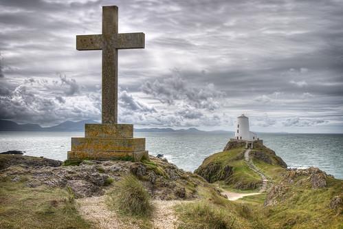 Ynys Llanddwyn Lighthouse