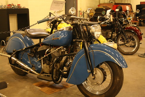 1948 Indian Chief #Motorcycle #ForneyMuseum