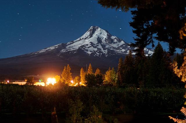 Mt. Hood, Oregon Volcano