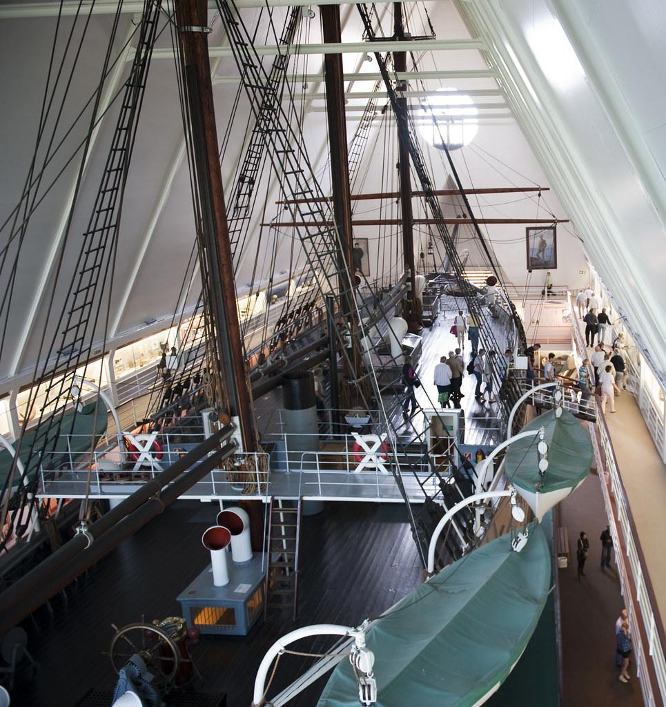 Museo Fram interior