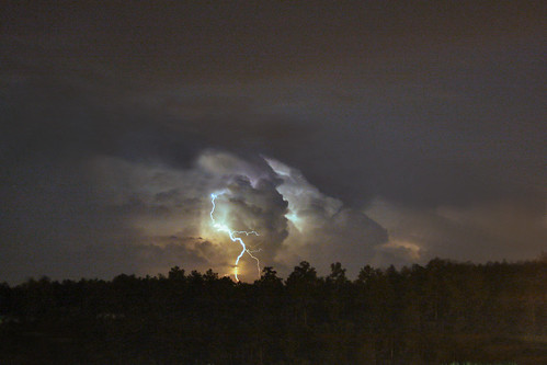 South Carolina Thunder Storm