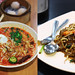 Mee Siam and Char Kway Teow Noodles