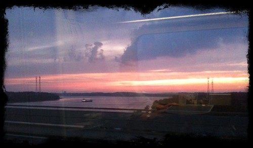 sunset train iphone ramsing